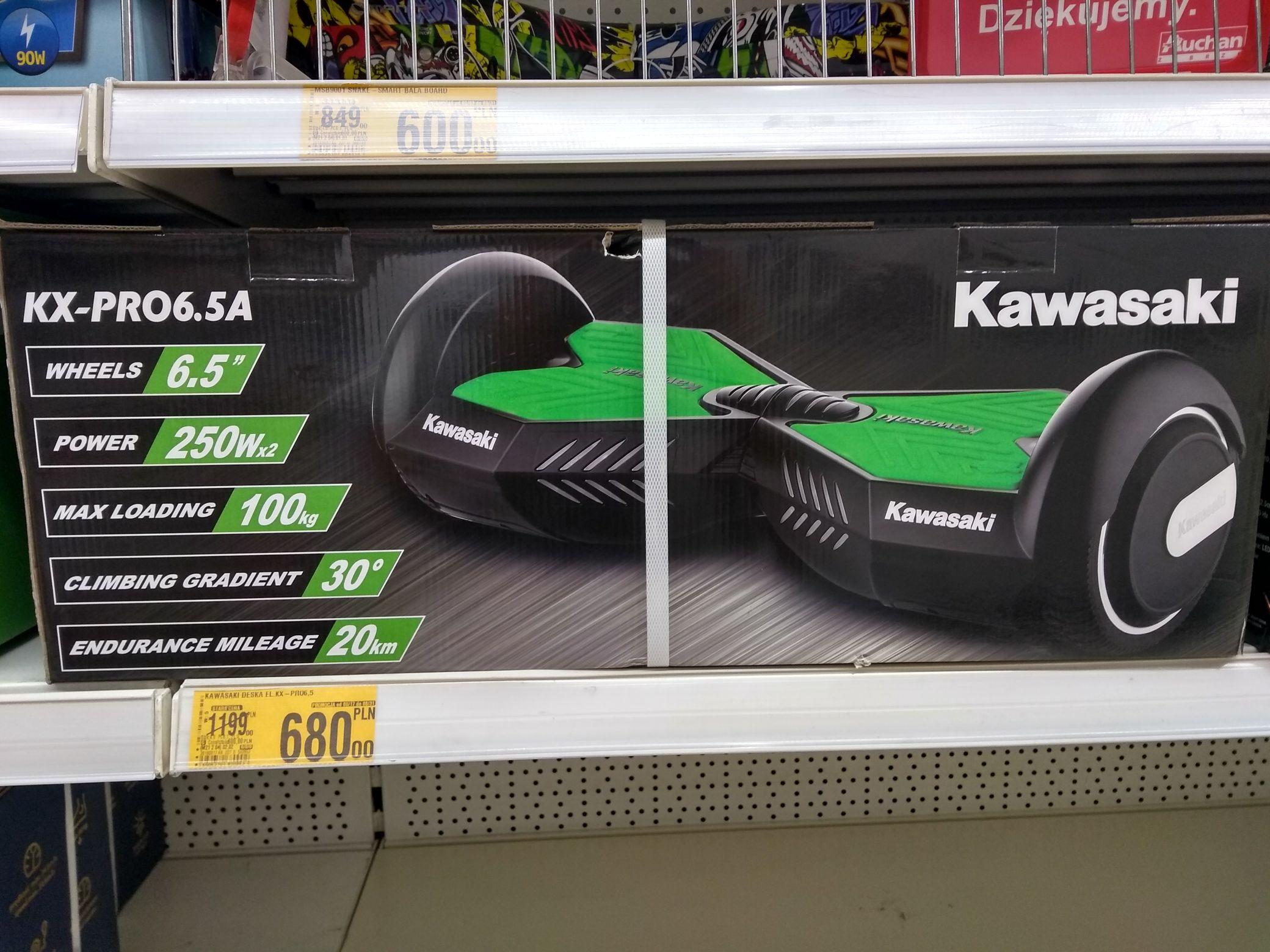 Deskorolka elekt. Kawasaki KX-Pro6.5A