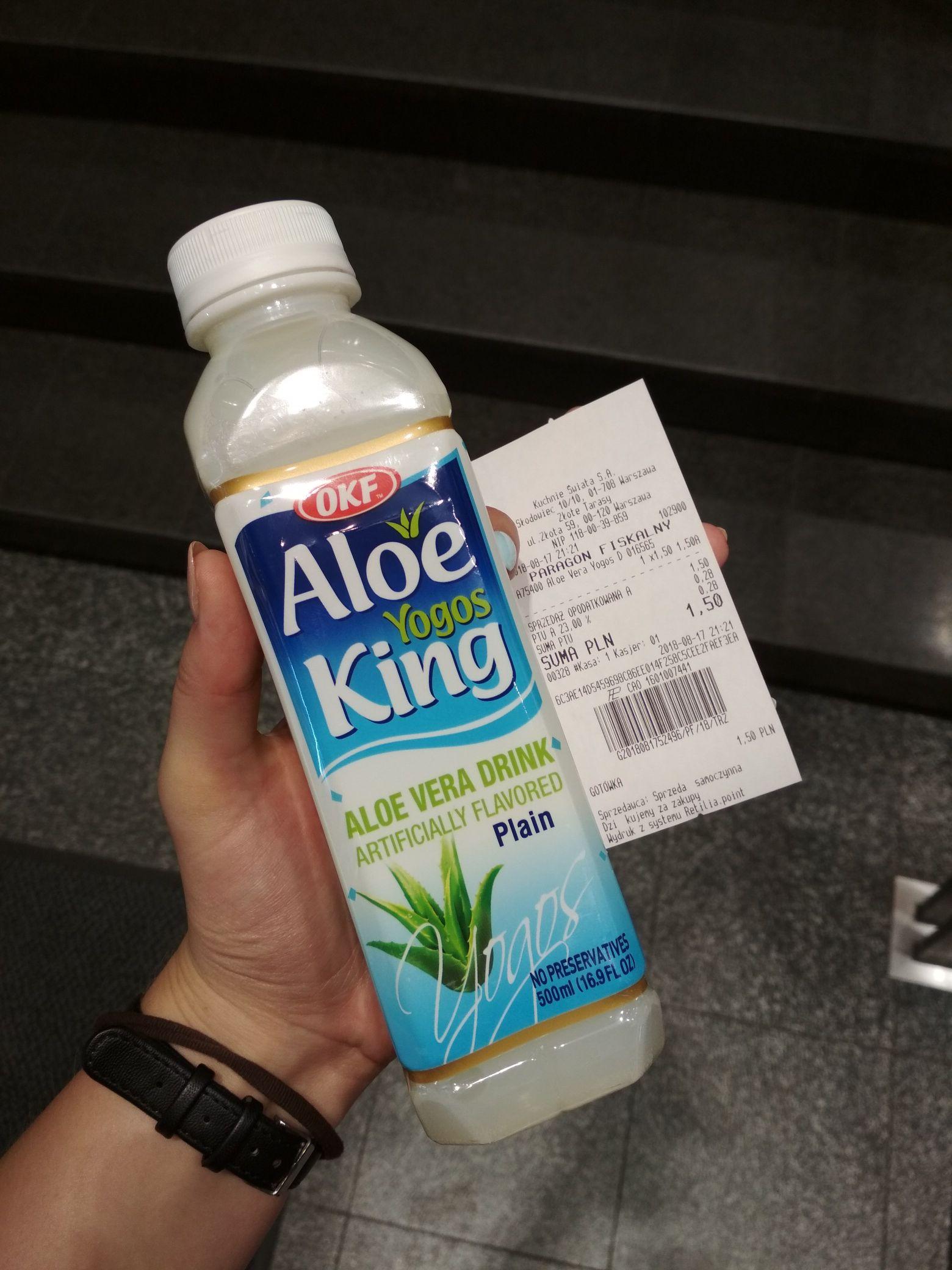 Napój Aloe King 500 ml -  kuchnie świata