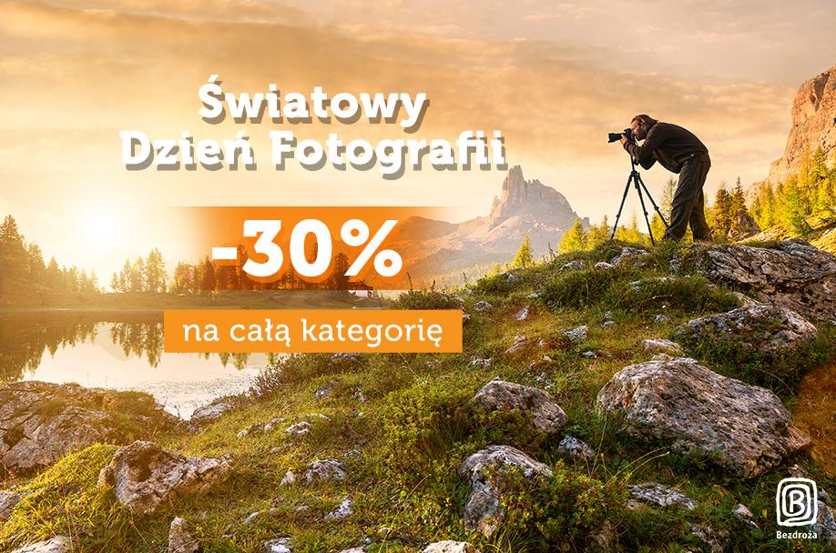Światowy Dzień Fotografii. Książki, ebooki i kursy z kategorii Fotografia  30% tańsze @ Helion, Bezdroza