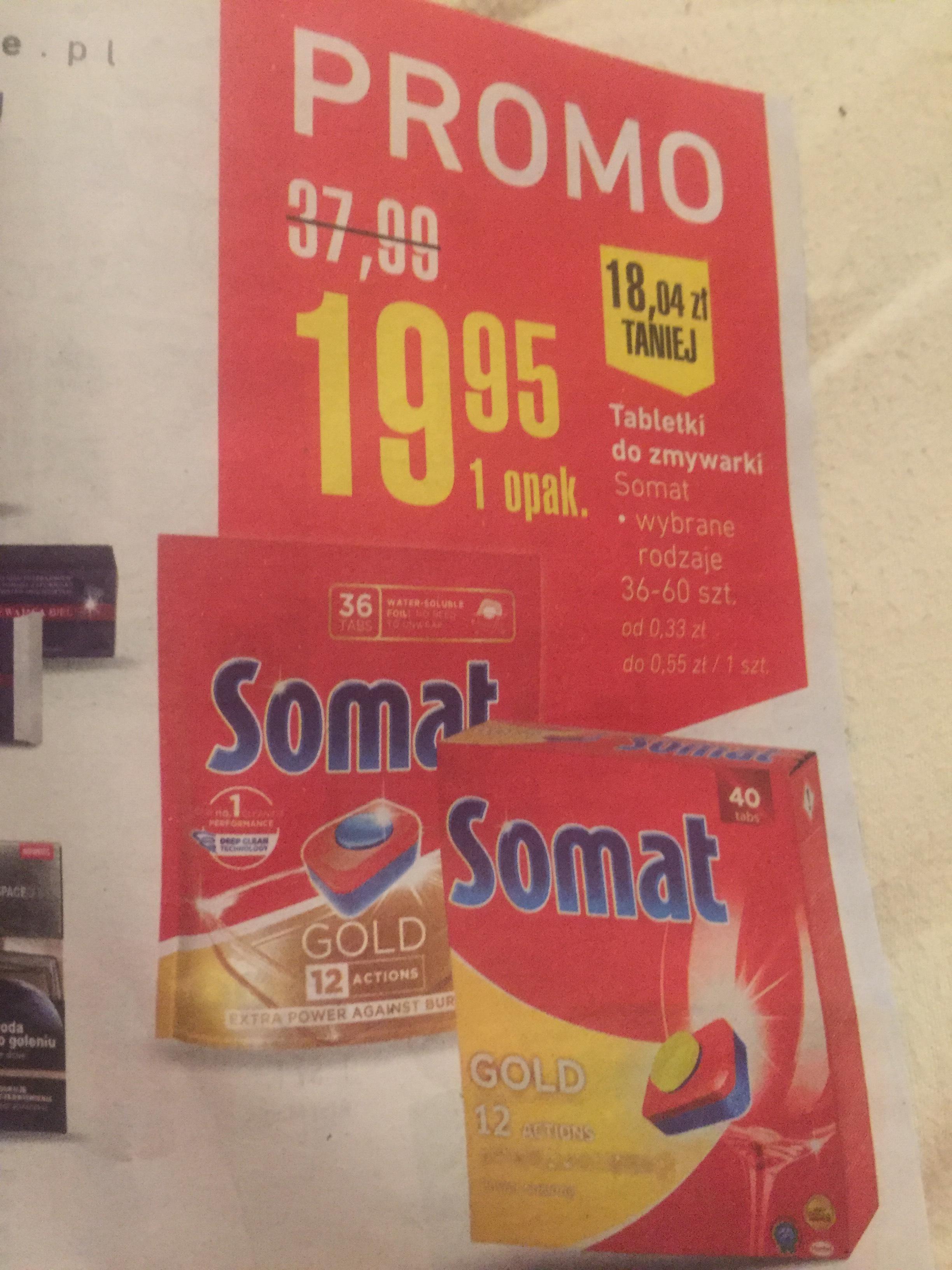 Tabletki do zmywarki Somat Intermarche