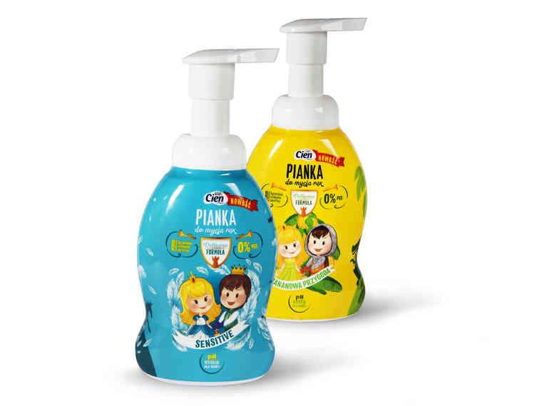CIEN KIDS Pianka do mycia rąk dla dzieci 300 ml Drugi produkt -50%