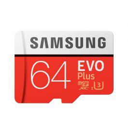 Samsung EVO PLUS 64GB MicroSDXC Class 10 USH-I U3