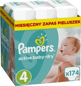 Pampers Active w Warszawie