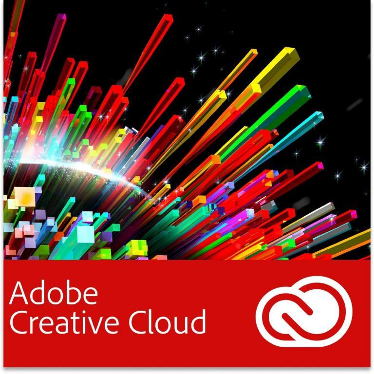 Subskrypcja miesięczna Adobe Creative Cloud - 40% taniej
