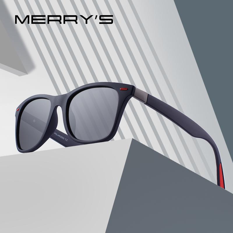 Stylowe okulary polaryzacyjne w stylu retro MERRY'S PROJEKT 6,73$