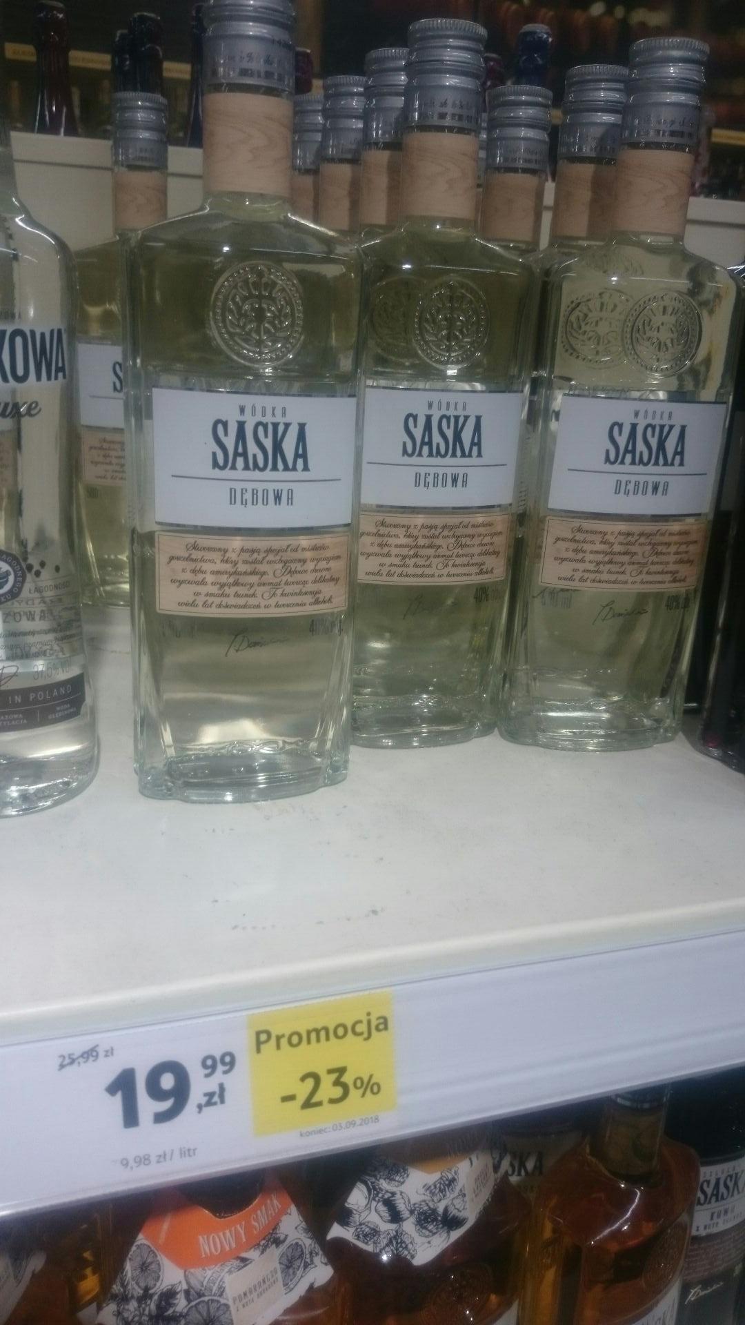Wódka Saska Dębowa 500ml - TESCO