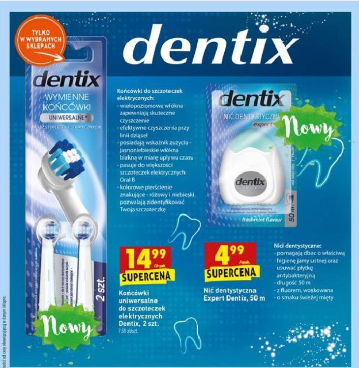 Dentix końcówki uniwersalne do szczoteczek Oral-B