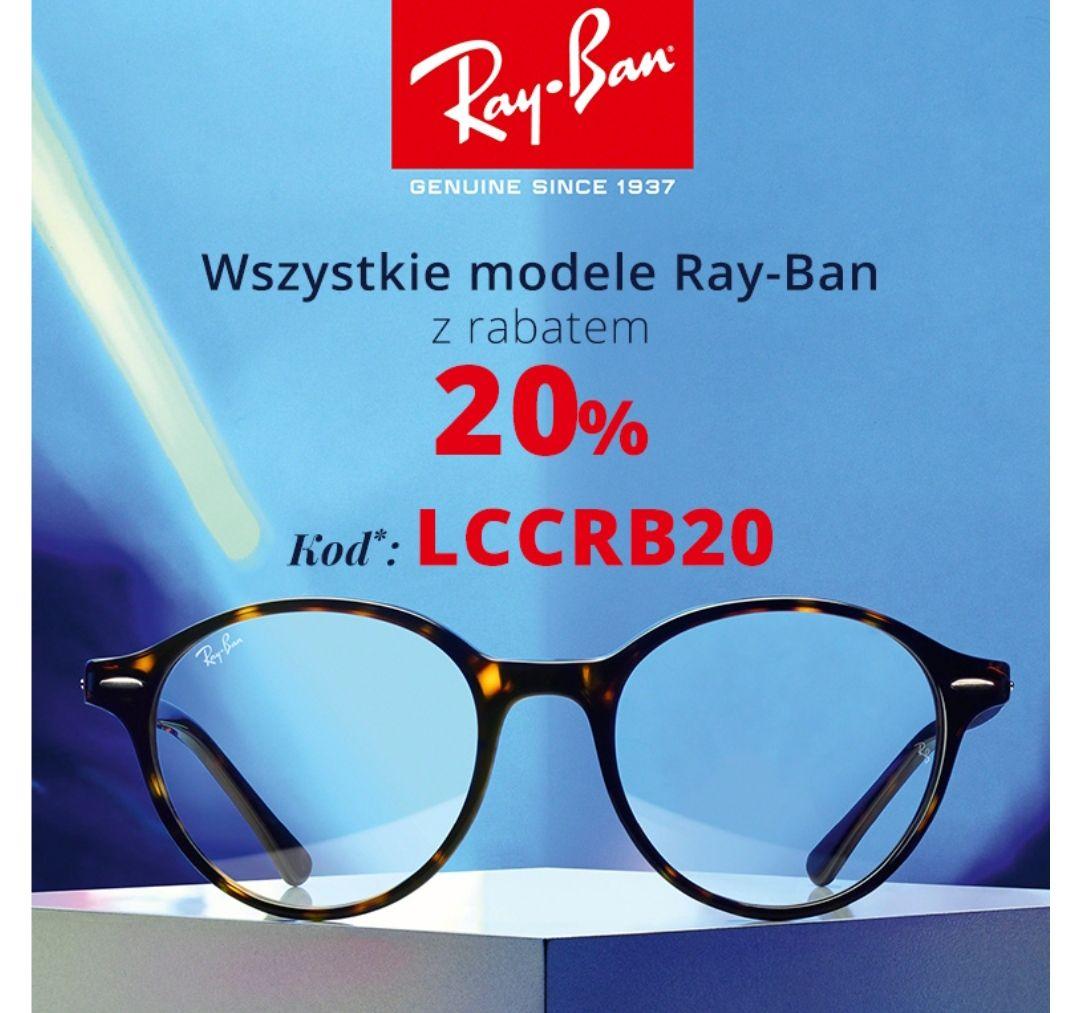 Kodano Ray-Ban okulary korekcyjne i przeciwsłoneczne minus 20%