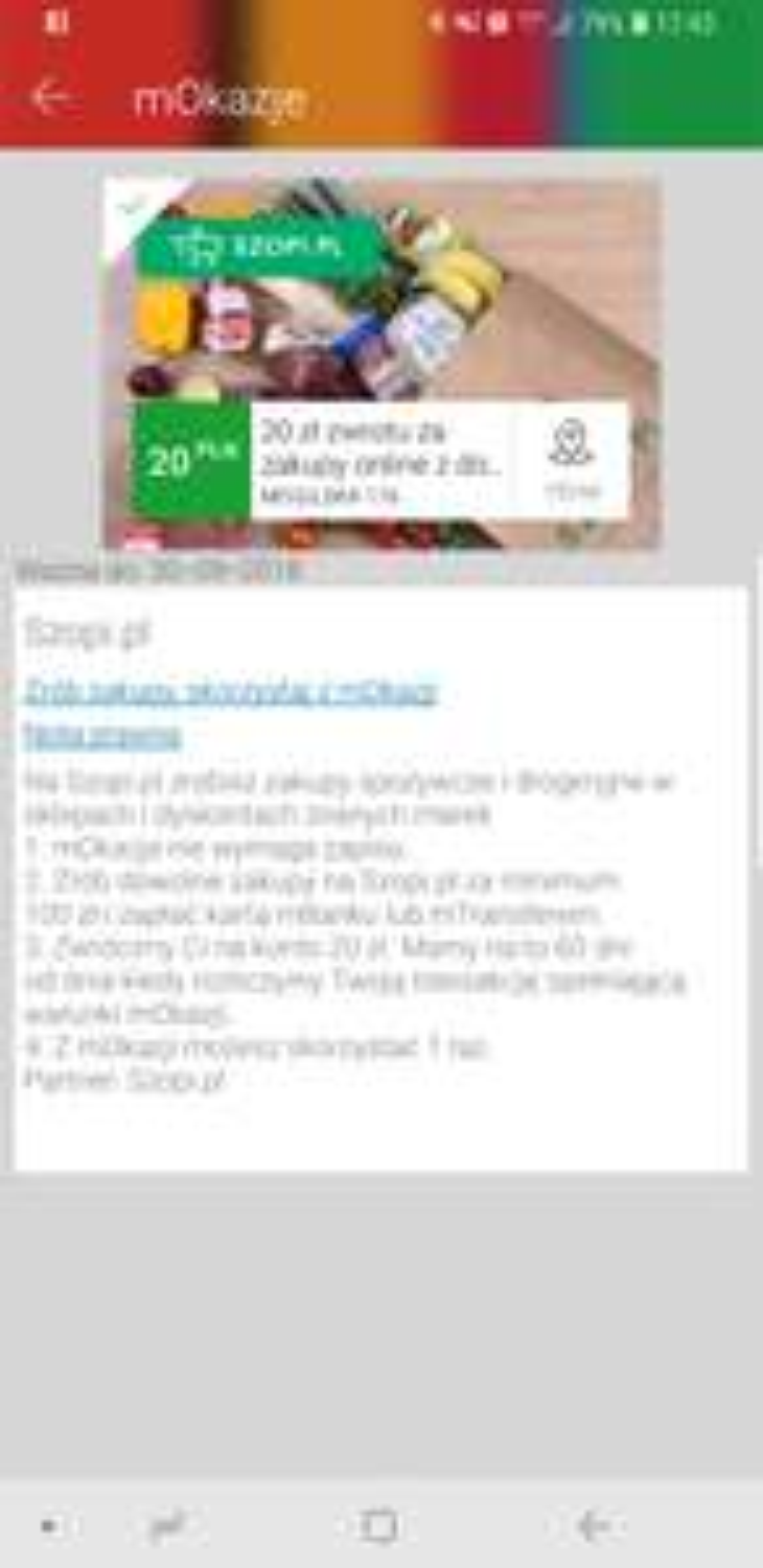Zwrot 20 zł za zakupy na Szopi.pl | mOkazje