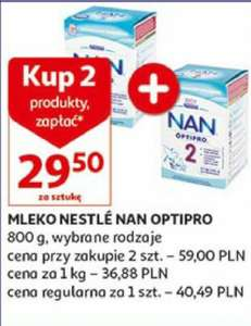 Mleko Nestle Nan Optipro 800g Auchan