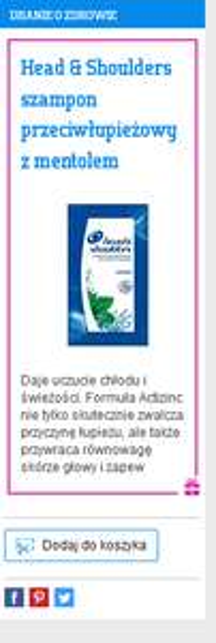 Darmowe próbka szamponu Head&Shoulders (poj.10ml) @ Everydayme