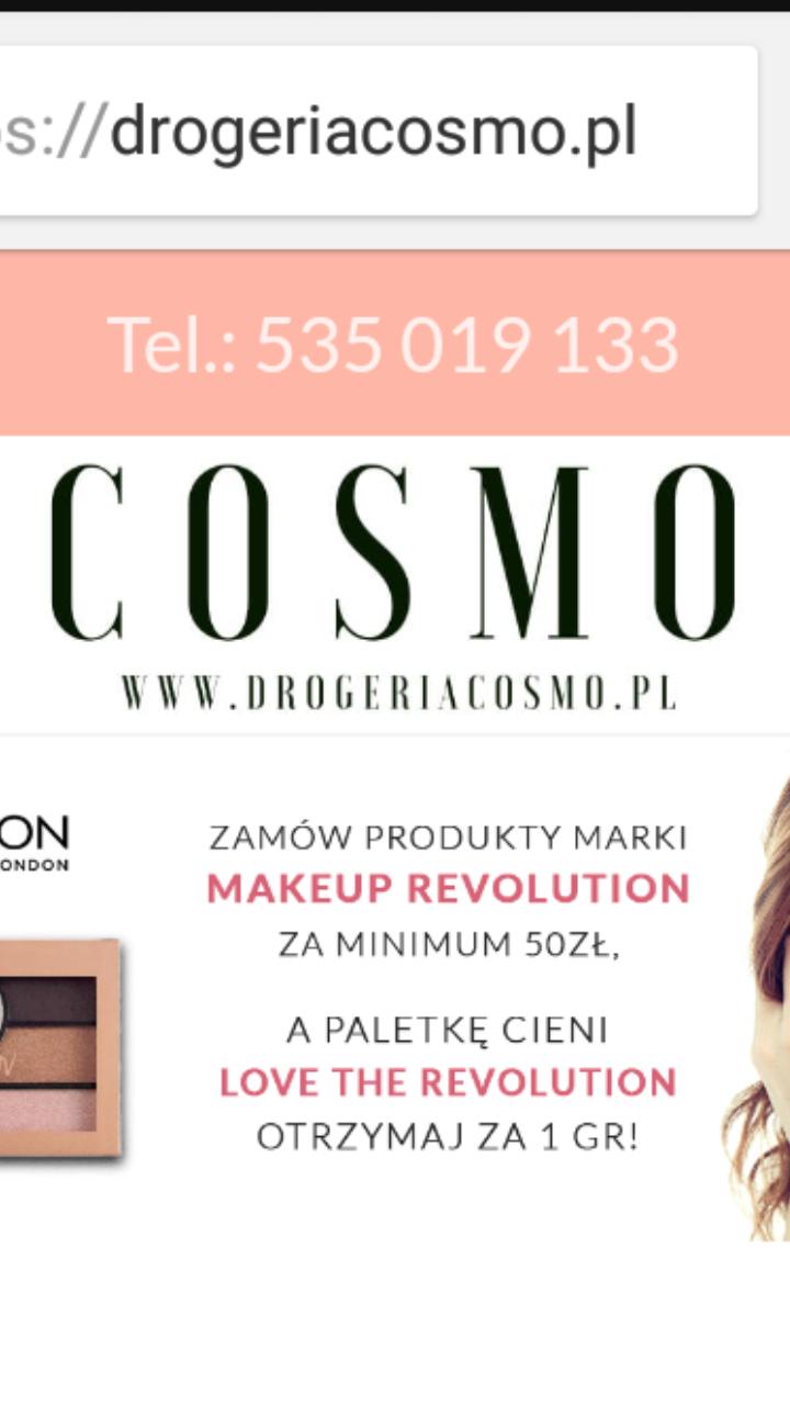 Zniżka 15% na kosmetyki i inne promocje, DROGERIA COSMO