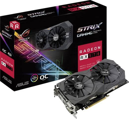Karta Graficzna AMD Radeon RX 570 Strix Overclocked 4 GB 179e + 12e mailboxde