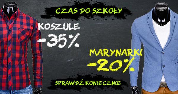 OMBRE Koszule nawet 35% taniej! Zamów już za 39 PLN!