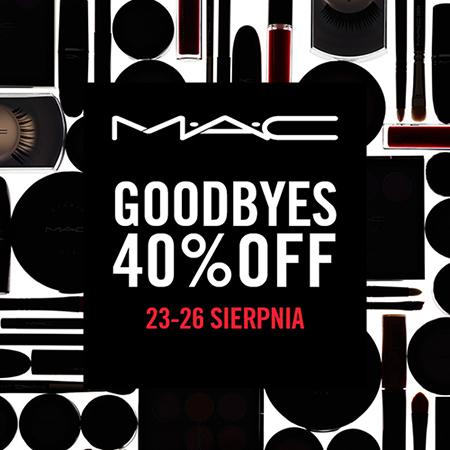 40% zniżki na wybrane produkty @ MAC Cosmetics