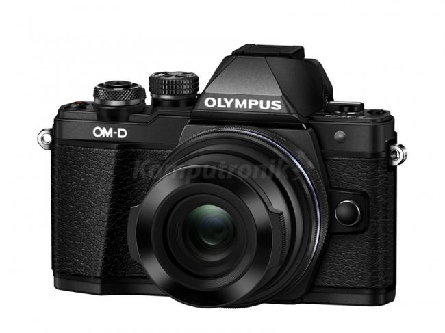 Olympus E-M10 Mark II  + EZ-M1442EZ Czarny