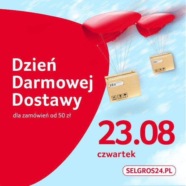 Darmowa dostawa w Selgros24.pl MWZ50zł