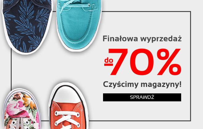 Finałowa wyprzedaż obuwia do -70% @ Mivo.pl