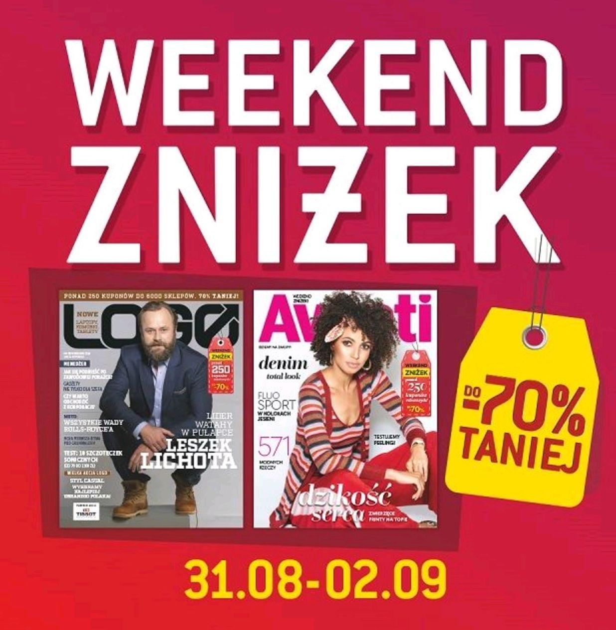 Weekend zniżek w magazynach Avanti i Logo