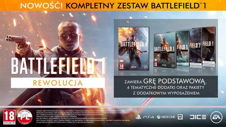 Battlefield 1 Rewolucja dla XBOX ONE i PC