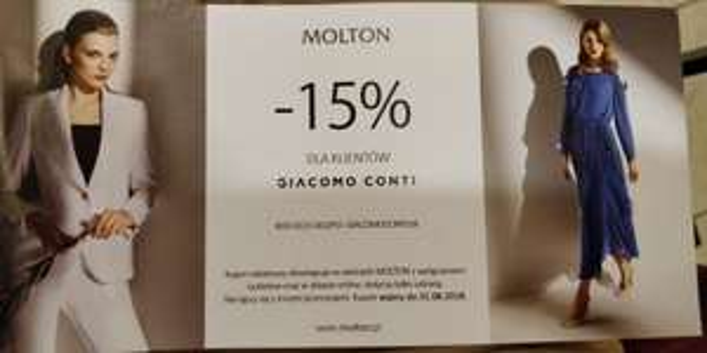 MOLTON  15% rabatu w sklepie internetowym