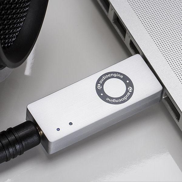 """Audioengine D3 przenośny DAC/Amp - """"karta dźwiękowa"""", wzmacniacz"""