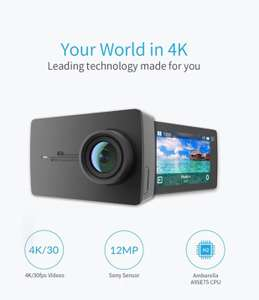 Kamera sportowa Yi 4K (127.49 USD) i Yi 4K + (227.99 USD)