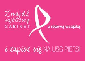 AVON Kontra Rak Piersi - akcja ogólnopolska USG piersi + prezent po wykonanym badaniu