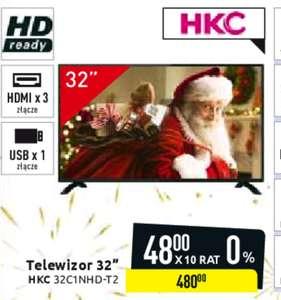 Telewizor HKC 32 cale HD Carrefour