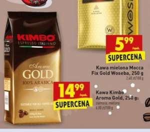 Kimbo Aroma Gold 250g Biedronka