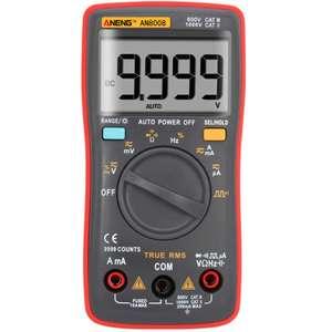 ANENG AN8008 - znany i mocno polecany multimetr w bardzo dobrej cenie