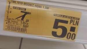 Kabel HDMI 1.5m Auchan