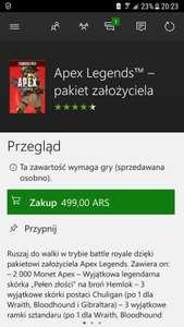 Apex Legends - pakiet założyciela.