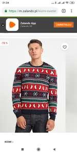 Zalando. Sweter świąteczny Kiomi