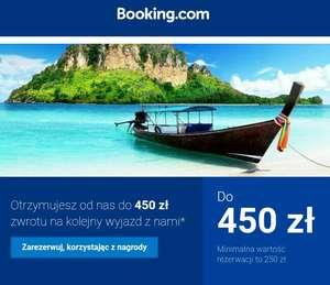 Booking.com cashback 10%