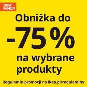 Do -75 na meble ogrodowe w IKEA