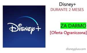 Disney+: 2 Miesiące ZA DARMO (wymagana sieć VPN)