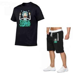 koszulka i spodenki z Rickiem Sanchezem ( Rick and Morty)