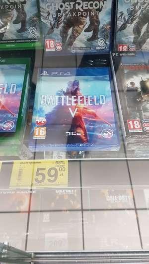 Battlefield 5 ps4 Carrefour