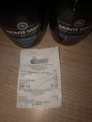 MONTE SANTI - BIEDRONKA - Promocja