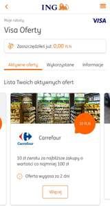 Visa Oferty dla klientów ING Banku Śląskiego