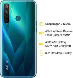 Realme 5 Pro: 4 aparaty 4/128 -10%, 8/128 -15%. Smartfon submarki Oppo. Kolor Crystal Green / Sparkling Blue. Sklep Realme na Amazon