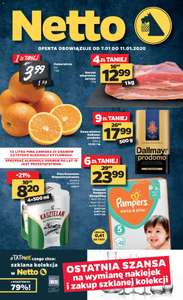 Pieluchy Pampers sleep&play @ Netto
