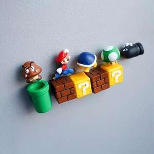 10 magnesów na lodówkę Super Mario Bros 3D