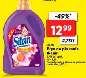 LIDL: SILAN 2,775 litra płyn do płukania tkanin