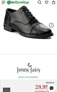 Oxfordy damskie Jenny Fairy, rozm. 37