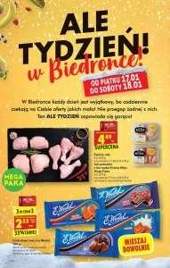 Czekolada Wedel 3 w cenie 2 i Udo lub podudzie z kurczaka 4.49/kg - Biedronka