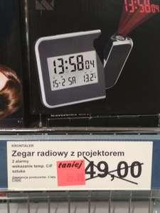 Zegar z projektorem Aldi