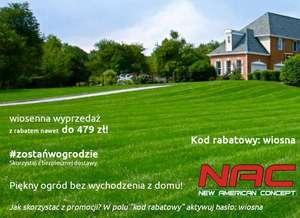 Rabat 5% na sprzęty NAC
