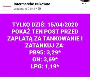 Tanie LPG! Bukowno Intermarche